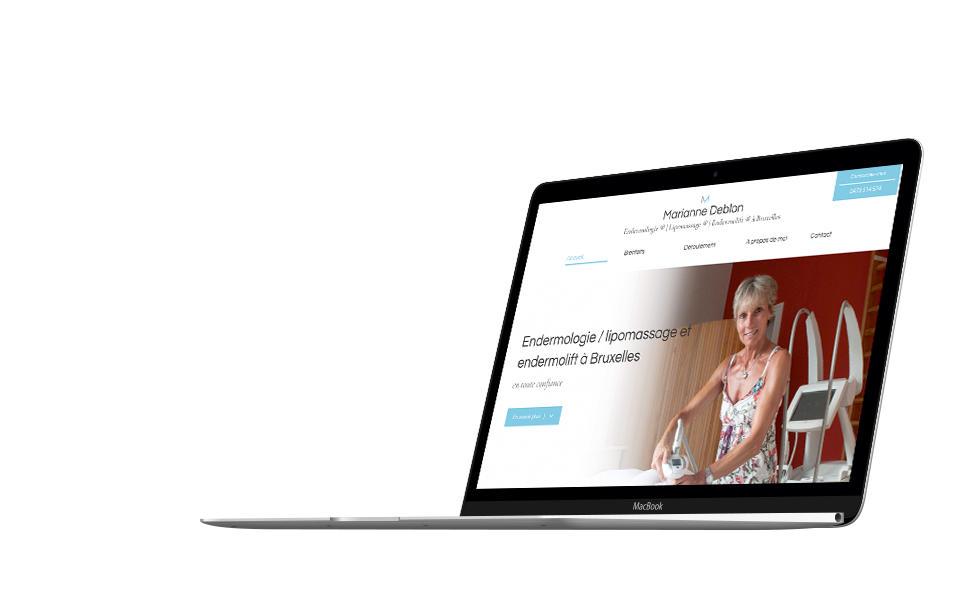 Site web de Marianne Deblon