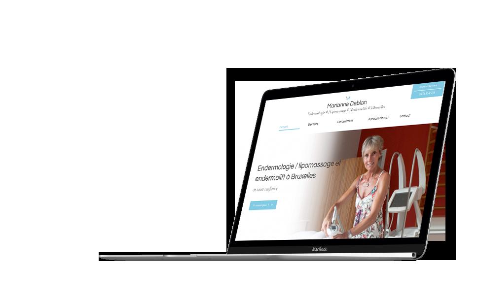 Site internet de Marianne Deblon